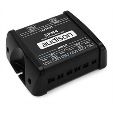 Audison Thesis SPM4 - пассивный стерео микшер