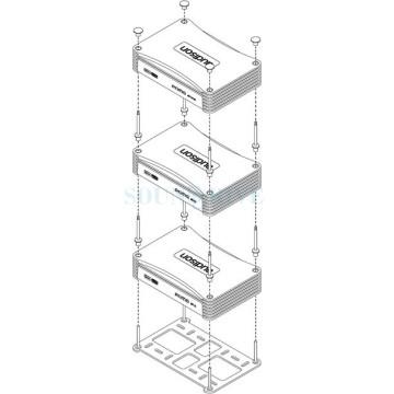 Audison APTK 3 - крепежный комплект для усилителей